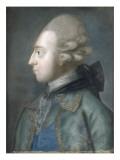 Portrait présumé du comte d'Orsay de profil Giclee Print by Joseph Boze