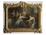 Psyché implorant le pardon de Vénus Giclee Print by Jean Restout