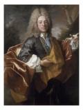 Portrait de Joseph Delaselle (1768-), négociant-armateur à Nantes Giclee Print by Jean Ranc