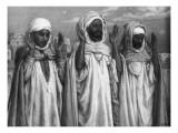 La Prière sur les terrasses Giclée-Druck von François Vizzavona