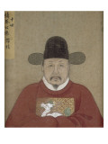 Portrait of the Venerable Liu Xin (Tenth Generation) Giclee Print