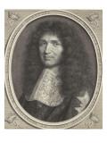 Portrait de Colbert, d'après le pastel de Nanteuil Giclee Print by Robert Nanteuil