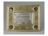Plaque de reliure : la Guérison du possédé Giclée-tryk af Filippo Brunelleschi