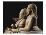 Sarcophagus of the Spouses, Couple on the Bed Burial Giclee Print