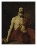 Saint J&#233;r&#244;me p&#233;nitent Giclee Print by Jusepe Ribera