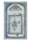 Plaque représentant la Kaaba Gicléetryck