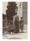Rentilly, Madame Menier, Jacques Menier and His Dog Giclee Print