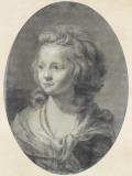 Portrait d'une jeune fille, les cheveux bouclés Giclée-Druck von Elisabeth Louise Vigée-LeBrun