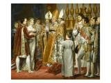 Mariage religieux de Napoléon Ier et de l'archiduchesse Marie-Louise Giclee Print by Georges Rouget