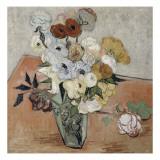 Vase mit Rosen und Anemonen Giclée-Druck von Vincent van Gogh