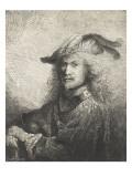 Portrait d'officier Lámina giclée por Ferdinand Bol