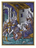 Plaque : Adoration des Mages Giclee Print by Pierre Reymond