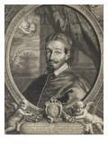 Le pape Alexandre VII Giclée-Druck von Cornelius de Visscher