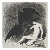 Saint Sébastien mangé par les chauves- souris. Giclee Print by Jean Jacques Henner