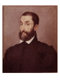 Portrait d&#39;homme Giclee Print by Giovanni Battista Moroni