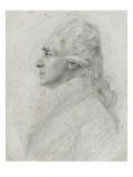 Portrait de Rochambeau Reproduction procédé giclée par Augustin De Saint-aubin