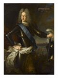 Portrait de Louis-Henri de Bourbon (1692-1740) Giclee Print by Pierre Gobert