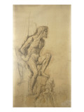 Prom&#233;th&#233;e Giclee Print by Gustave Moreau