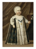 Portrait of Louis Xiv (1638-1715) Child in the Foot Giclee Print
