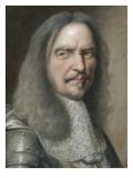 Portait de Henri de la Tour d'Auvergne, vicomte de Turenne (1611-1675) Giclee Print by Robert Nanteuil