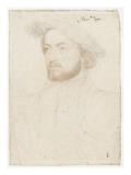 Portrait de François de Rohan, seigneur de Gié (1515-1560) Giclee Print by Jean Clouet