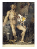 Priam aux pieds d'Achille (esquisse) Giclee Print by Jules Bastien-Lepage