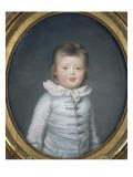 Portrait de Charles Ferdinand de Bourbon, duc de Berry (1778-1820) à cinq ans Giclee Print by Joseph Boze