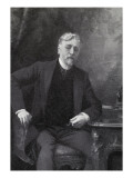 Portrait Painted by Aimé Morot Gustave Eiffel, 1905 Giclee Print