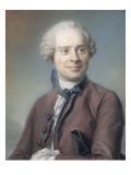 Portrait de Jean Le Rond d'Alembert (1717-1783), philosophe Giclee Print by Maurice Quentin de La Tour