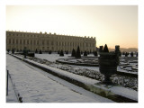 South Wing of the Castle of Versailles in the Snow Giclee Print