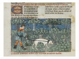Le Livre de la chasse de Gaston Ph&#233;bus Reproduction proc&#233;d&#233; gicl&#233;e