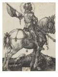 Saint Georges Reproduction proc&#233;d&#233; gicl&#233;e par Albrecht D&#252;rer