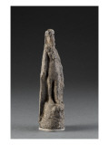 Statuette of Gilgamesh Wearing the Mask of Humbaba Giclee Print