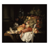 Nature morte au homard Giclee Print by Johannes Hannot