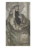 L'Encens Giclee Print by Fernand Khnopff