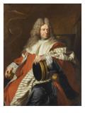 Pierre de Bérulle, premier président au parlement de Grenoble Giclee Print by Hyacinthe Rigaud