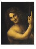 Saint Jean Baptiste Giclée-tryk af Leonardo da Vinci,