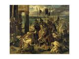 Prise de Constantinople par les croisés (12 avril 1204) Giclee Print by Eugene Delacroix