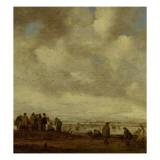 Eisläufer Giclée-Druck von Jan Van Goyen