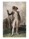 Soldat de l'armée républicaine Giclee Print by Denis Auguste Marie Raffet