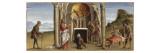 Saint Barthélémy faisant tomber l'idole Astaroth Giclee Print by Niccolò Rondinelli
