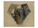 Study Questions for Herodotus Tradition of the Magi Giclee Print by Eugene Delacroix