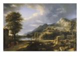 L'Ancienne ville d'Agrigente Giclée-Druck von Pierre Henri de Valenciennes
