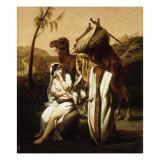 Thamar et Juda Giclee Print by Horace Vernet