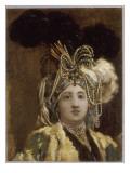 Sultane reine Giclée-Druck von Joseph Marie Vien