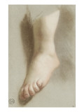 Etude d'un pied nu Giclée-Druck von Nicolas Vleughels