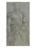 Etude pour le portrait d'une dame Giclée-Druck von Paolo Véronèse