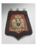 Sabretache du 8e régiment de hussards. Reproduction procédé giclée
