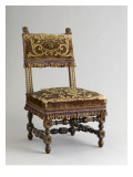 Small Chair of the Prince Imperial from the Tuileries Giclee Print