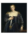 La Belle Nani (portrait de femme) Giclée-Druck von Paolo Véronèse